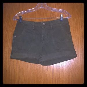 Sanctuary Army Green Shorts